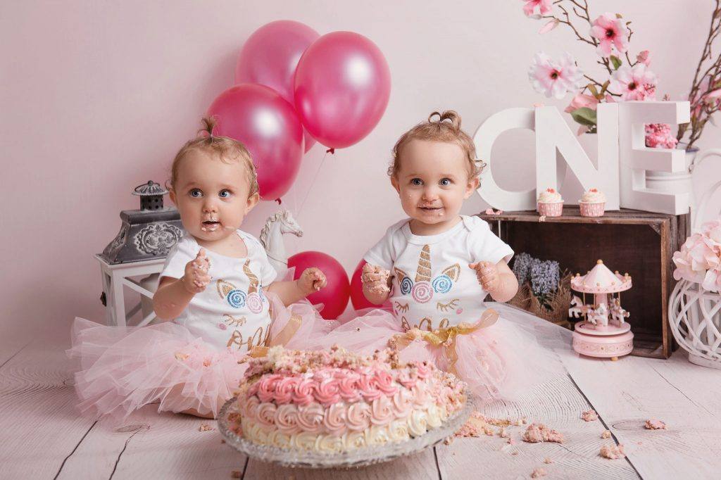 photographe studio smash cake lyon