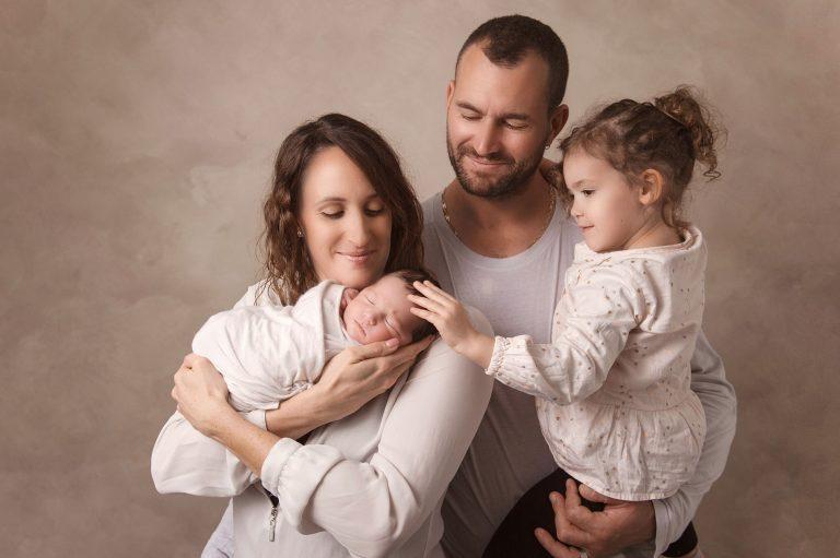 photographe portrait enfants studio naissance villefranche sur saône famille beaujolais